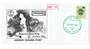NEW ZEALAND Alternative Postal Operator Stampways 1988 30c Green on first day cover. Otorohanga Travel Centre Perrys Buses. - 13