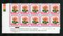 NEW ZEALAND 1975 Roses 7c Michele Meilland. Plate Block 2B2B2B2B. - 15204 - UHM