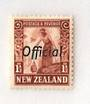 NEW ZEALAND 1935 Pictorial Official 1½d Red-Brown. - 174 - UHM
