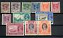 BURMA 1951 Definitives. Short set of 12. - 20019 - Mint