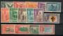 SARAWAK 1950 Geo 6th Definitives. Set of 15. - 20021 - LHM