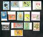 SINGAPORE 1962 Definitives. Set of 15 as orinally issued. Excludes the 15c. - 20022 - UHM