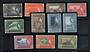 PENANG 1957 Elizabeth 2nd Definitives. Set of 11. - 20026 - UHM