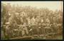 Real Photograph by Zak of Crowd at Britain v New Zealand Test Match 27.6.1908. - 20036 - Postcard