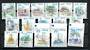 HONG KONG CHINA 1999 Definitives Landmarks. Set of 15. Original issue only. - 20044 - UHM