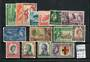 SARAWAK 1953 Elizabeth 2nd Definitives. Set of 15. - 20050 - FU