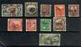 NEW ZEALAND 1935 Selection of Pictorial Officials. The ½d is LHM the rest fu or used. One or two nibbled perfs on the 2½d and a