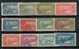 GUADALOUPE 1922 SG 83-94. Set of twelve. Mixed  mint and used. - 20090 - Mixed