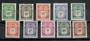 FRENCH OCEANIC SETTLEMENTS 1948 Postage Due. Set of 10. - 20098 - UHM