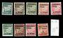 FRENCH OCEANIC SETTLEMENTS 1926 Postage Due. Set of 9. - 20100 - Mint