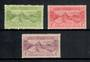 NEW ZEALAND 1925 Dunedin Exhibition. Set of 3 with hinge thin on 1d - 20117 - LHM