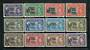 TRISTAN DA CUNHA 1952 Geo 6th Definitives. Set of 12. - 20131 - Mint