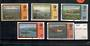 FALKLAND ISLANDS DEPENDENCIES 1985 Definitives. Watermark Multiple Crown Script CA Diagonal. Complete set of 5. - 20143 - UHM