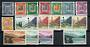 FRENCH ANDORRA 1961 Definitives. Set of 17 as originally issued. - 20152