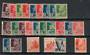 ALGERIA 1942-1943. Complete. Mainly LHM. One or two VFU. - 20153 - Mixed