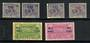 FRENCH GUIANA 1922 Surcharges. Set of 6. - 20171 - Mint
