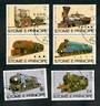 ST THOMAS & PRINCIPE 1982 Trains. Set of 6. - 20189 - VFU