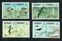 KIRIBATI 1993 Birds. Set of 8 in joined pairs. - 20202 - VFU