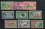 PITCAIRN ISLANDS 1940 Geo 6th Definitives. Set of 10. - 20209 - Mint