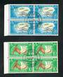 NOUVELLES HEBRIDES 1963 Definitives. The 10c and 20c both in nice blocks. Excellent PORT VILA postmark. - 20214 - VFU
