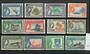 GILBERT & ELLICE ISLANDS 1956 Elizabeth 2nd Definitives. Set of 12. - 20224 - LHM