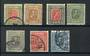 ICELAND 1915 Set of 7. Wmk crosses .The value is in the 6aur Grey which is in fine condition - 20228 - VFU