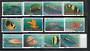 NORFOLK ISLAND 1998 Reef Fishes. Set of 12. - 20229 - VFU