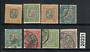 ICELAND 1907 Officials. Set of 8. - 20231 - FU