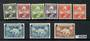 GREENLAND 1938 Definitives. Set of 9. - 20238 - LHM