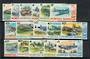 NORFOLK ISLAND 1980 Definitives Aeroplanes. Set of 16. - 20242 - UHM
