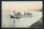 Postcard JAPAN Ferry Boat. Hand colored. - 20245 - Postcard