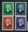 NORWAY 1946 King Haakon. Set of 4. VLHM. Well centred. - 20248 - LHM