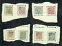 ICELAND 1907 Officials. Set of 8. Considered by my vendor to be undercatalogued and scarce. - 20250 - VFU
