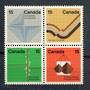 CANADA 1972 Earth Sciences. Block of 4. - 20269 - UHM