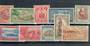 SAMOA 1952 Definitives. Set of 10. - 20272 - UHM