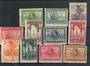 SPANISH SAHARA 1929 Seville and Barcelona Exhibitions. Fine mint set of 11. - 20276 - Mint