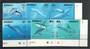 KIRIBATI 1998 Whales and Dolphins. Set of 8 in joined pairs. - 20280 - VFU