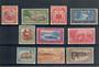 SAMOA 1935-1944 Definitives. Set of 9. Simplified set. Some toning. - 20281 - Mint