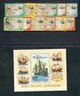 NORFOLK ISLAND 1994 Definitives. Pacific Explorers. Set of 12 and miniature sheet. - 20282 - LHM