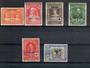 CAPE JUBY 1926 Red Cross. Short set of 8 to the 25c plus the express. Includes the higher catalogued items. - 20292 - LHM