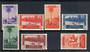 CAPE JUBY 1935 Definitives. Perf 13½. Set of 6 and the Express. Very lightly hinged. Very fine. - 20304 - LHM