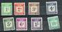 SOLOMON ISLANDS 1940 Postage Due. Set of 8. - 20306 - CTO