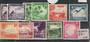 NAURU 1963 Definitives Birds and Flowers. Set of 8 plus extra colours 1/2d and 1d. - 20334 - LHM