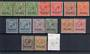 NAURU 1916 Geo 5th Definitives. Set of 11 plus the extra 2½d plus shades of the ½d and 1d. - 20336 - LHM