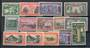NEW ZEALAND 1940 Centenary of Proclamation of British Sovreignity. Set of 14. - 20342 - Mint