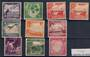 NAURU 1954 Definitives. Set of 9. - 20346 - Mint
