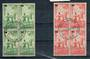 NEW ZEALAND 1939 Health. Set of 2 in blocks of 4. - 20348 - VFU