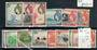 TRISTAN DA CUNHA 1954 Elizabeth 2nd Definitives. Set of 14. - 20422 - LHM