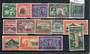 NEW ZEALAND 1940 Centenary of Proclamation of British Sovreignity. Set of 14. - 20426 - LHM