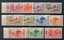 NEW HEBRIDES 1953 Definitives. Set of 11. - 20433 - UHM